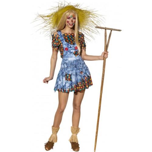 Costume d'épouvantail femme