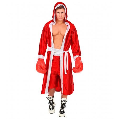 Déguisement boxeur rouge