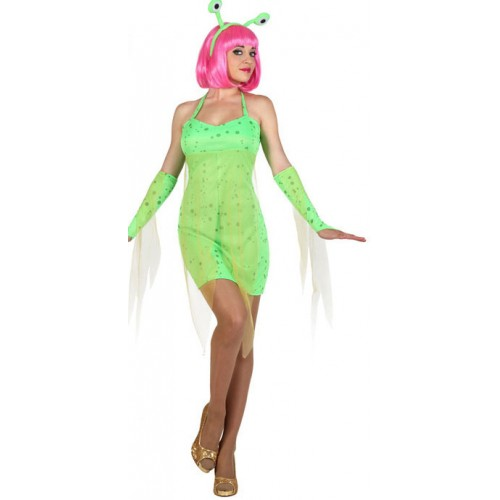 Costume extraterrestre femme