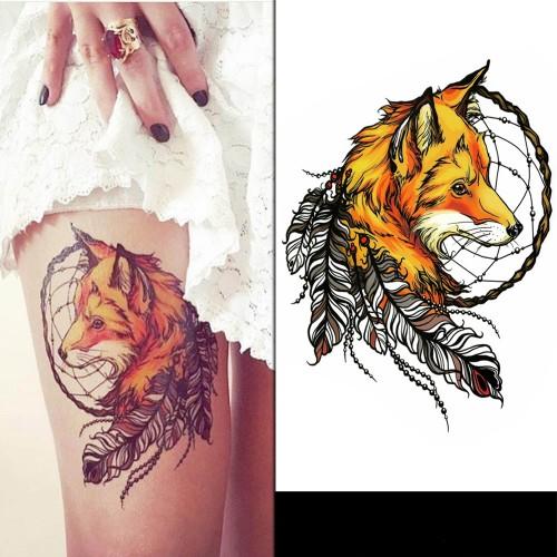 Tatouage foxy