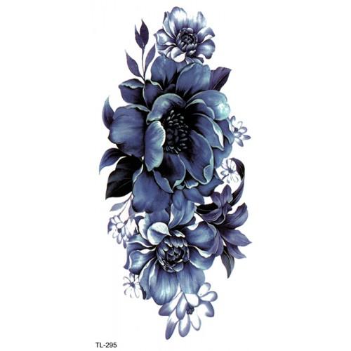 Tatouage lotus bleu