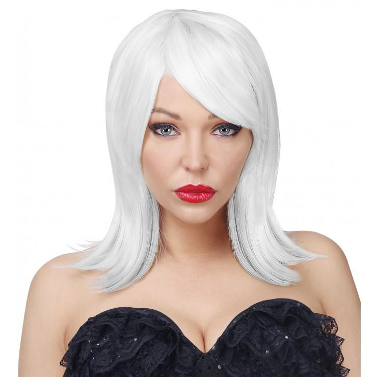 Perruque Noemi blanche