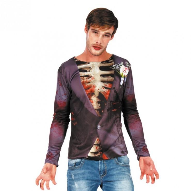 T-shirt zombie chic