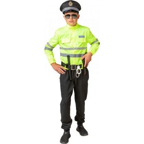 Costume Policier Jaune