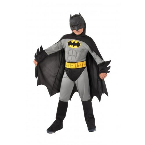 Déguisement Batman musclé gris