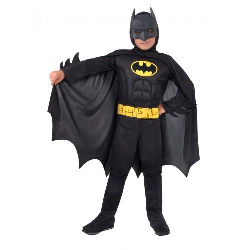 Costume Batman musclé noir
