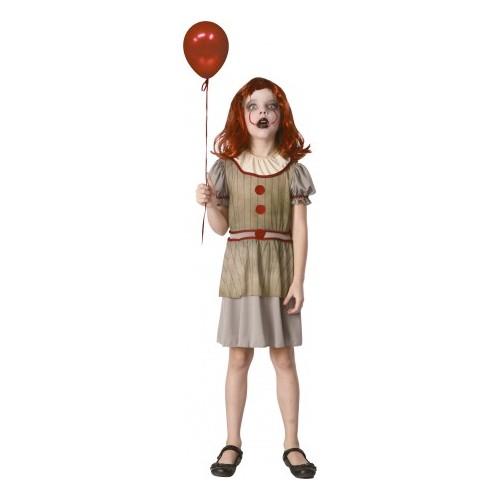 Déguisement petite clownette terrifiante