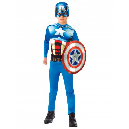 Déguisement captain America avec bouclier