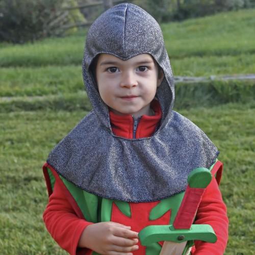 Camail chevalier enfant