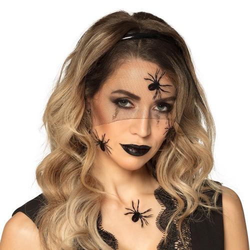Kit maquillage veuve noire