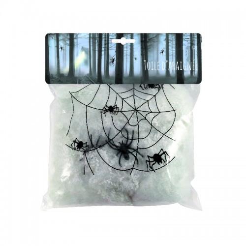 Toile d'araignée blanche 50g