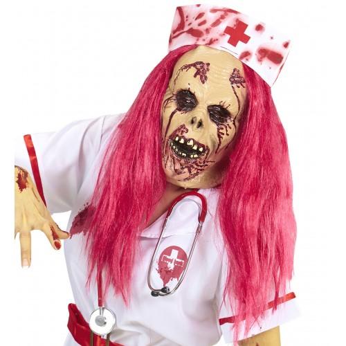 Masque d'infirmière zombie