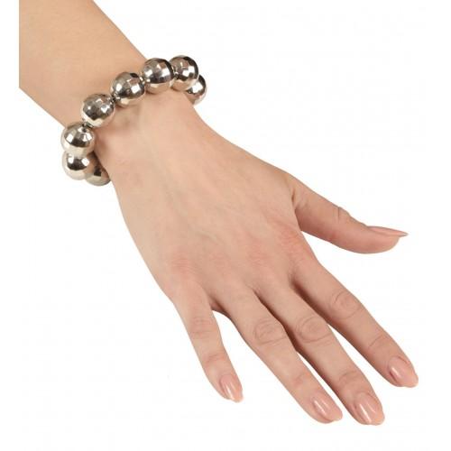 Bracelet boules à facettes