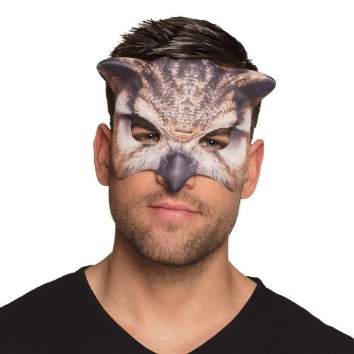 Demi masque hibou