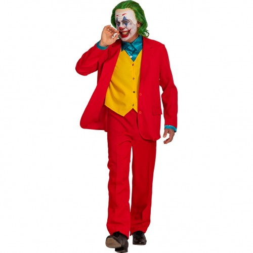 Déguisement crazy clown adulte