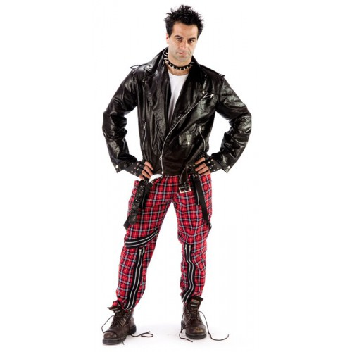 Pantalon tartan punk