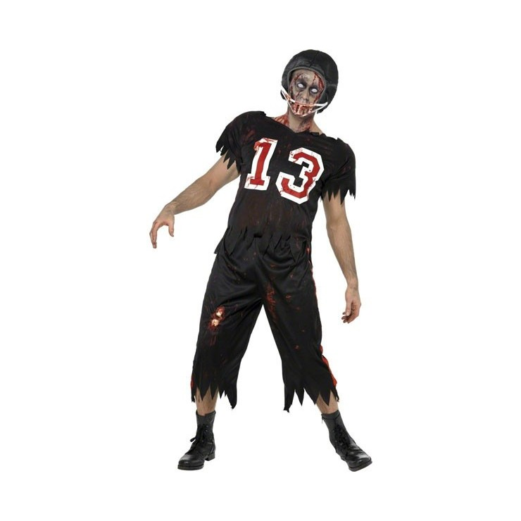 Footballeur Américain Zombie