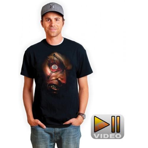 Zombie Eyeball moving t-shirt