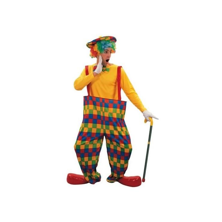 Clown arc en ciel