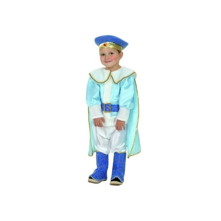 Costume prince bleu enfant