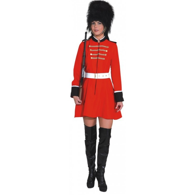 Costume garde royale femme