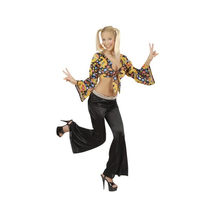 Pantalon disco femme