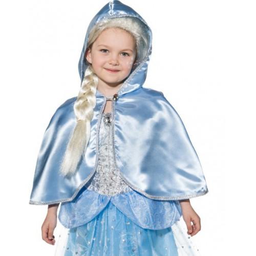 Capeline princesse bleue