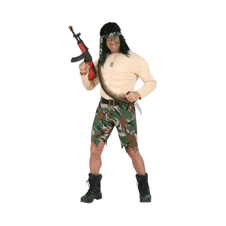 Soldat super musclé