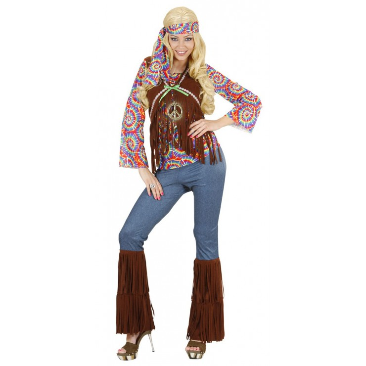 Femme hippie psychédélique