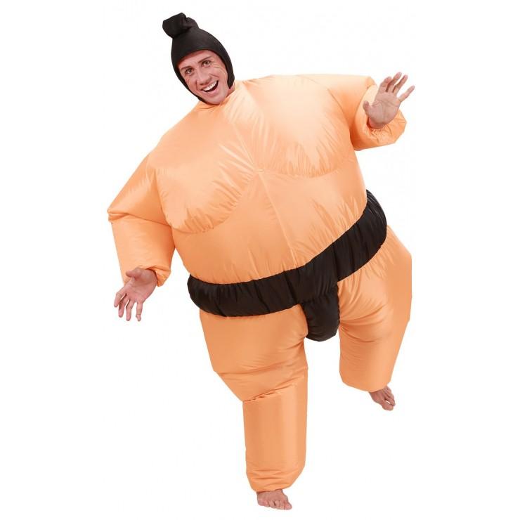 Déguisement sumo gonflable
