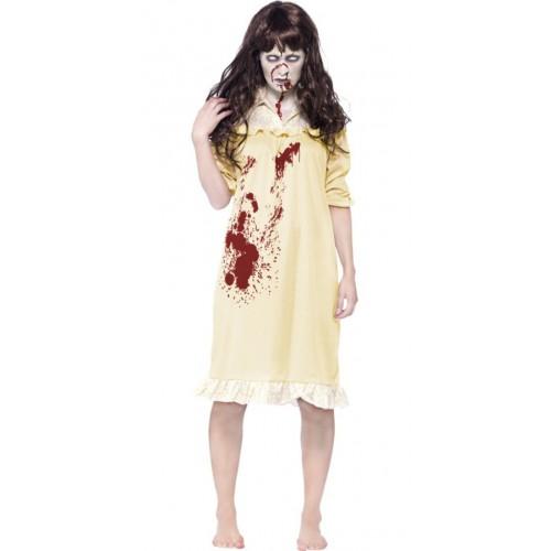 Costume zombie endormie