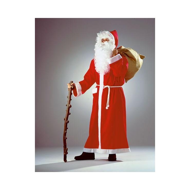 Manteau de père Noël extra long