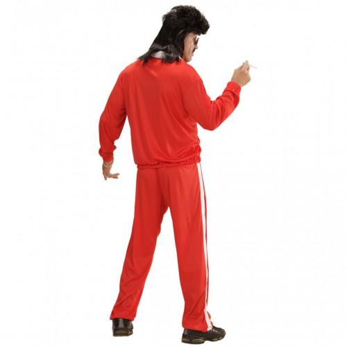Jogging 80's rouge