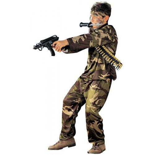 Soldat forces spéciales enfant
