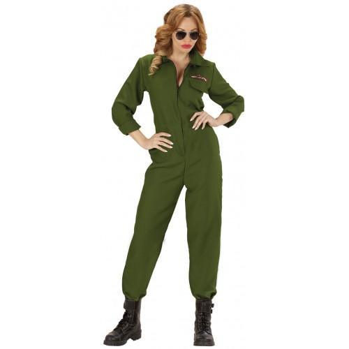 Déguisement femme pilote de jet