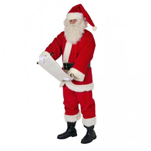 Costume père Noël peluche pro