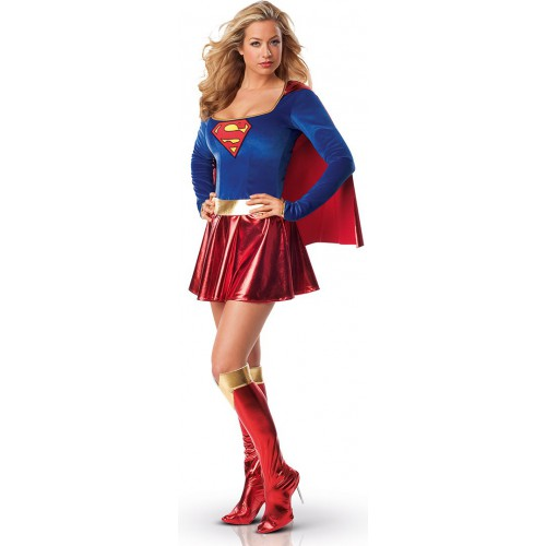 Déguisement sexy supergirl