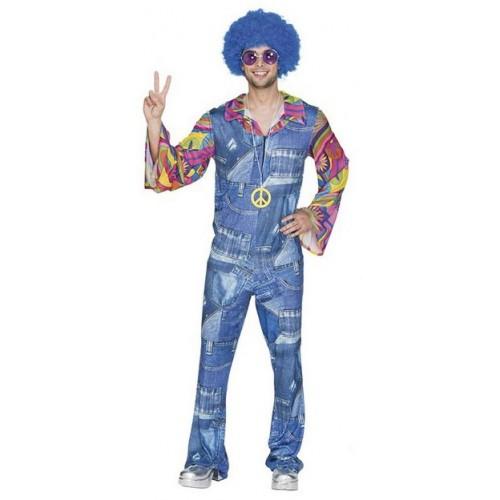 Déguisement hippie jean