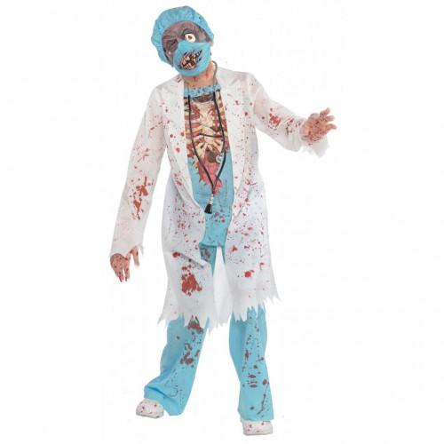 Déguisement Chirurgien Zombie Ado
