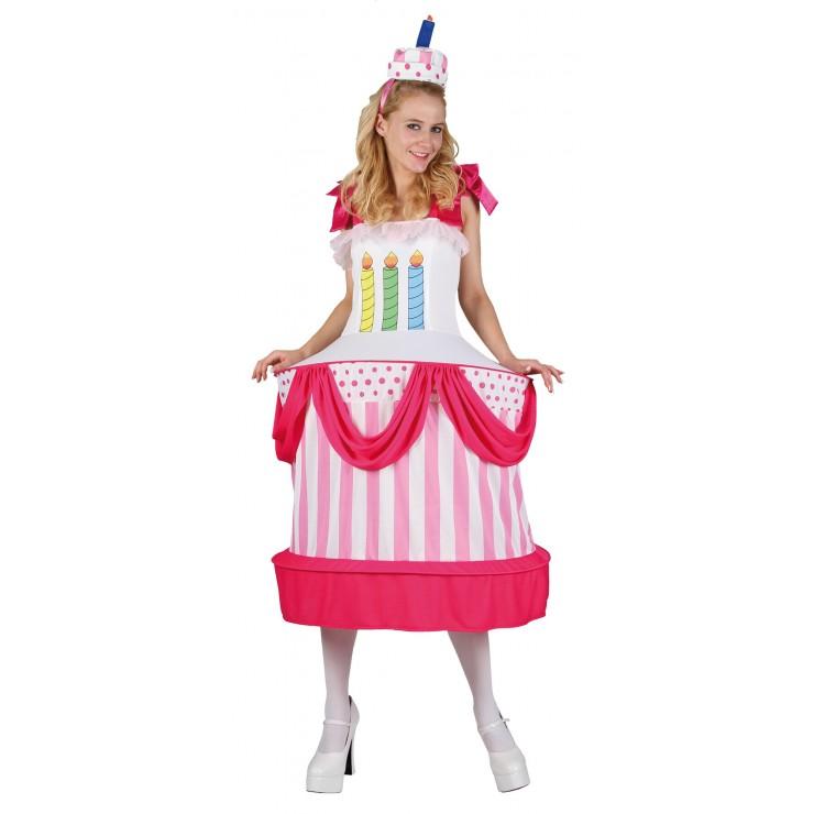 Costume gâteau d'anniversaire
