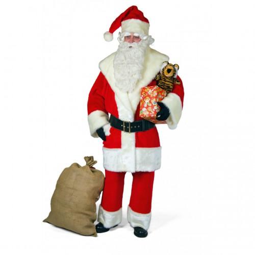 Père Noël Américain peluche luxe