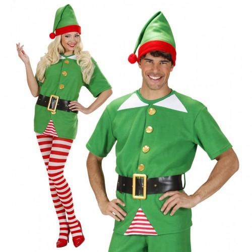 Costume d'elfe du père Noël