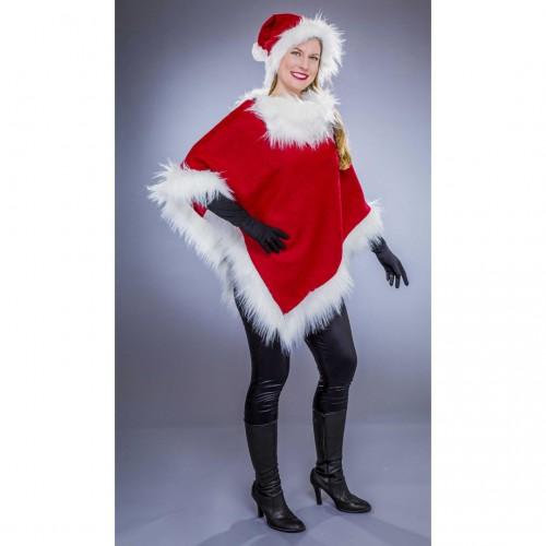 Poncho mère Noël