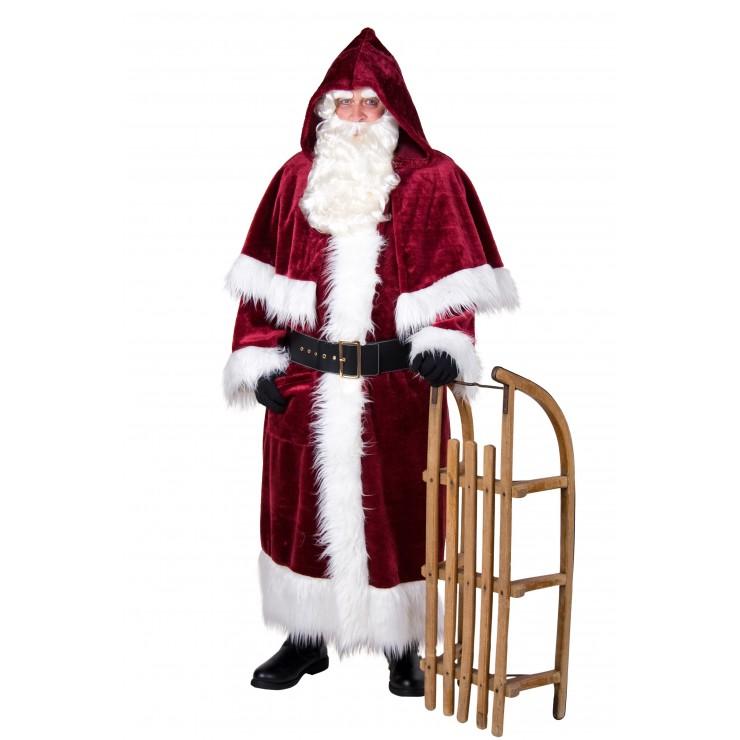 Costume de père Noël peluche
