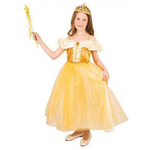 Robe princesse dorée