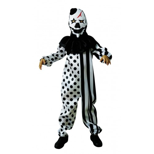 Costume arlequin Halloween enfant