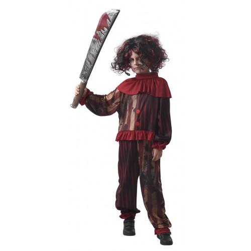 Déguisement clown diabolique enfant