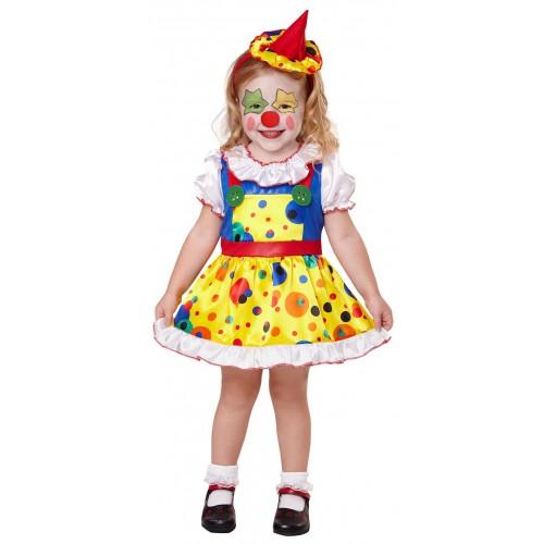 Déguisement petite clownette