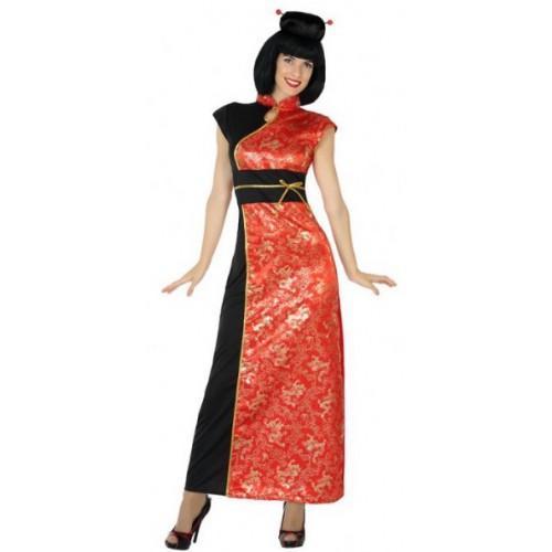 Déguisement femme chinoise