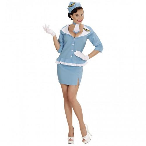 Costume hôtesse de l'air retro